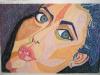 A girl\'s face 2