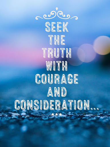 seek the truth