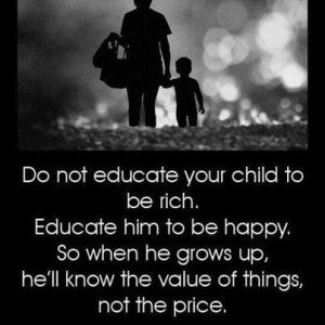 educate your child