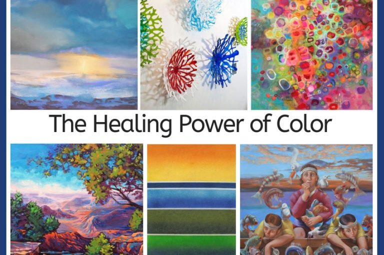The healing power of colours